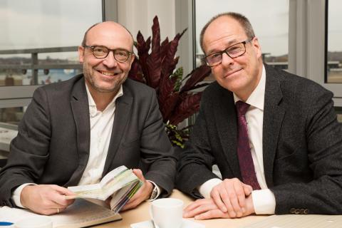 Axel Biermann und Thorsten Kröger