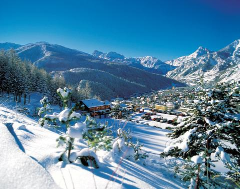 Bansko regains top spot for cheapest family skiing but Italian resorts rate as best value overall