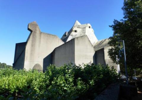Die Wallfahrtskirche in Neviges wird bis 2020 von ZÜBLIN saniert.