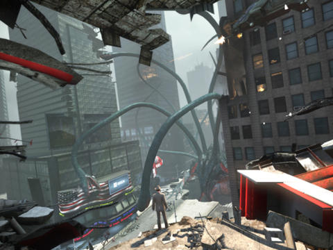 There is a 100-foot monster under Times Square and you must kill it in Secret World Legends