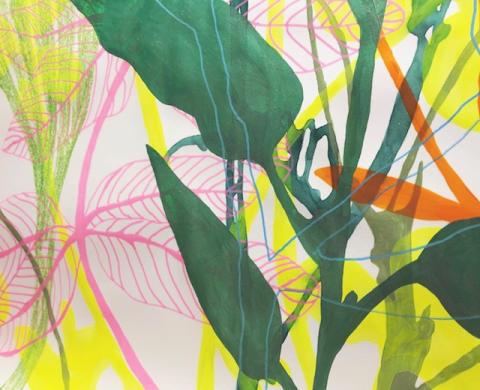 Detalj av teckning av Leicy Olsborn Björby