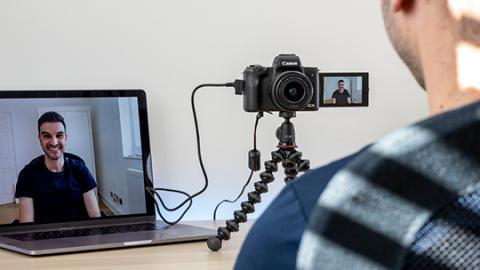 Transform your Canon camera into a high-quality webcam with EOS Webcam Utility Software