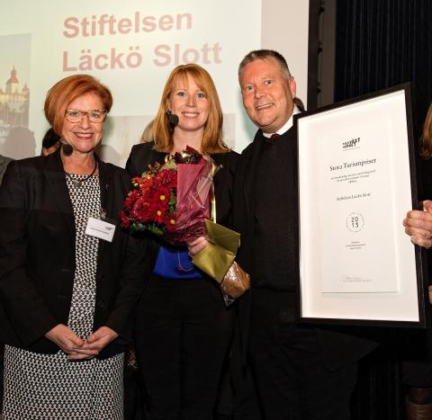 Medeltida slott vid Vänern får Stora Turismpriset 2013