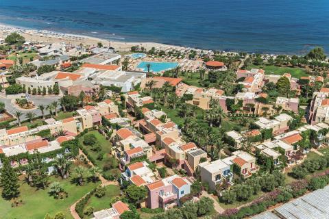 allsun Hotel Zorbas Village Luftaufnahme