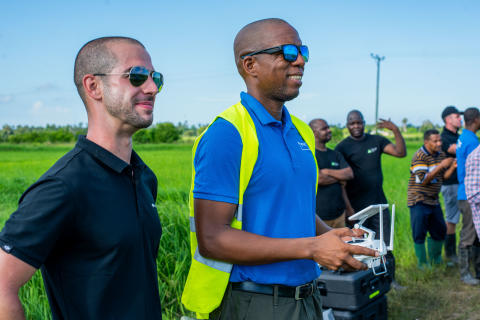 Flying Labs Tanzania training