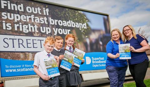 Digital Scotland Superfast Broadband reaches more of Angus