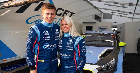 Andreas Bäckman and Jessica Bäckman