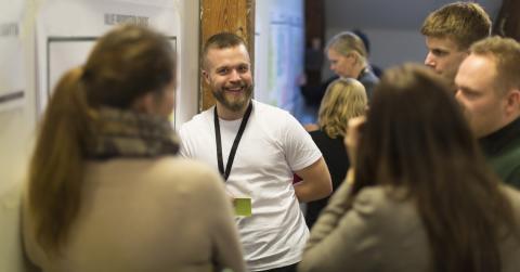 I Impact StartUp får du hjelp til å utvikle en bærekraftig forretningsmodell. Foto: Alex Asensi