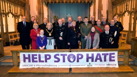 Speakers gather in Liverpool for Hate Crime Awareness Week