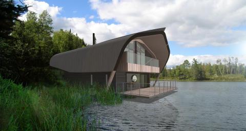 Center Parcs unveils new Waterside Lodge concept for Elveden Forest