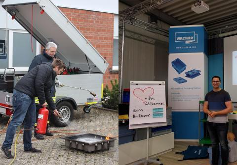 Ausbildung in Erste-Hilfe und Brandschutz bei WALTHER