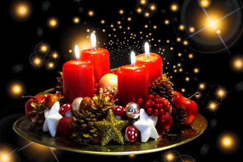 Brandgefährliche Adventszeit