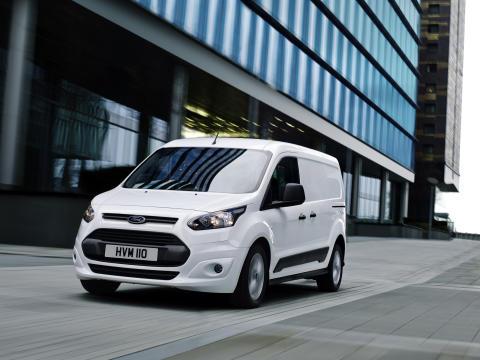 Nye Ford Connect, vises for første gang på  nyttekjøretøyutstillingen i Birmingham
