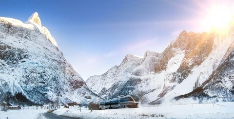Tågsemestra i vårt västliga grannland – nu släpper SJ biljetter för Norgetrafiken
