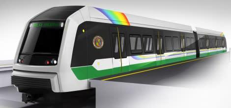 Driverless Metro train for Honolulu, USA