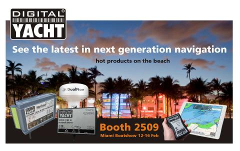 Hot New Products from Digital Yacht at the Miami Boat Show