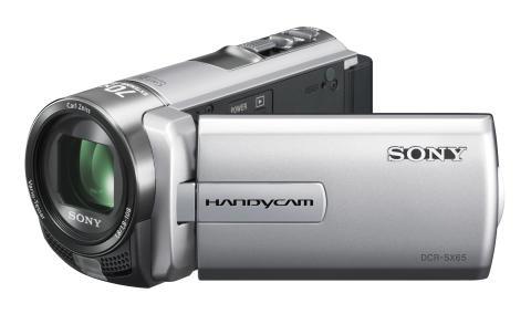 Handycam DCR-SX65E von Sony_Silber_05