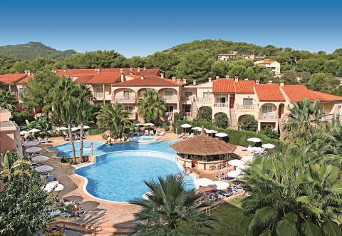 allsun Hotel Lago Playa Park Pool Anlage