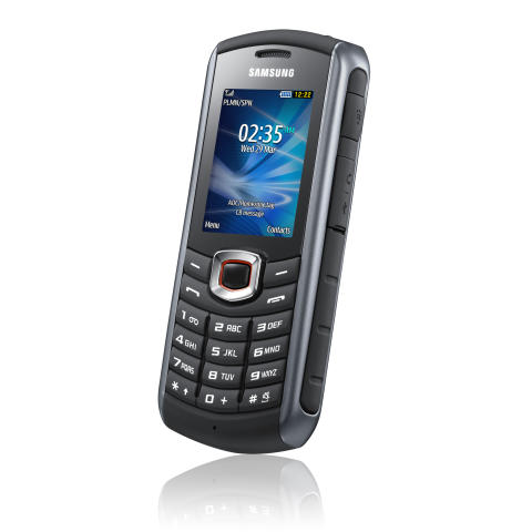 Samsungs mobil står emot höstens lervälling
