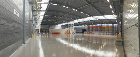 2,000 m2 dedicated to pharmaceuticals