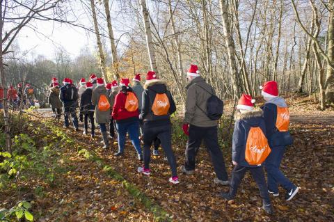 Festive family time on ellenor's Winter Walk