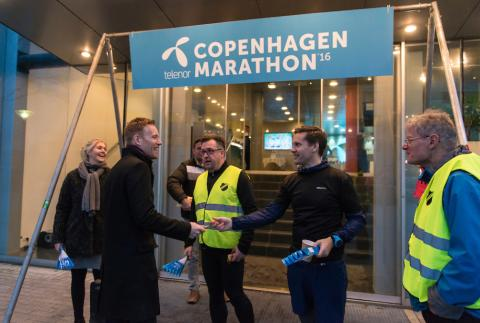 Telenor ny hovedsponsor for Copenhagen Marathon