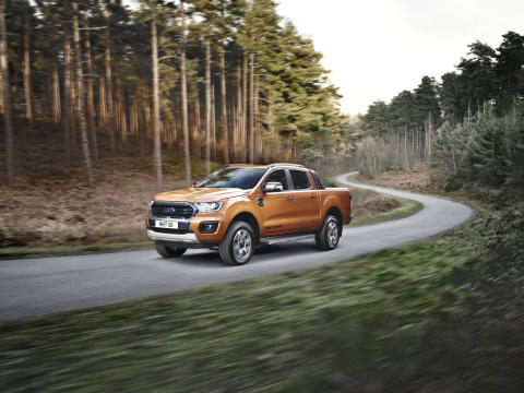 Her er 5 grunner til at nye Ford Ranger fortsatt er førstevalget!