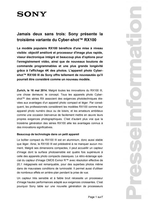 Communication de presse_RX100III_F-CH_140516