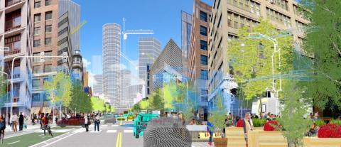 Ford samarbeider med Uber og Lyft om fremtidens by