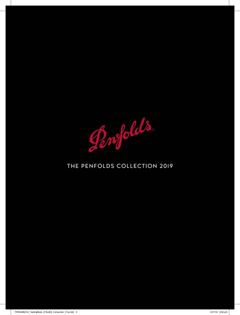 Penfolds 2019 Collection Tasting Notes