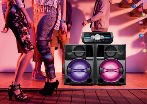 Мощная аудиосистема Sony SHAKE66D - звезда вечеринки!
