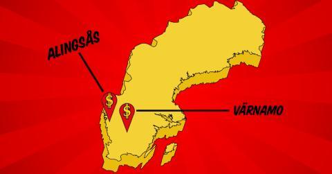 DollarStore öppnar i Alingsås och Värnamo