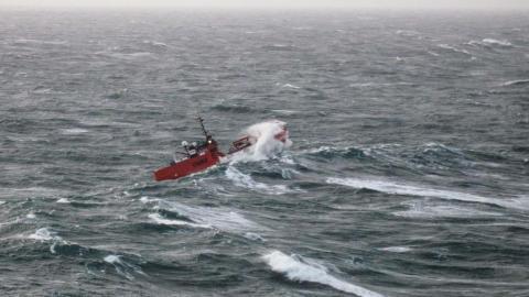 'Esvagt Echo' in the storm 'Gorm'