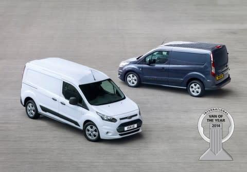 Nye Ford Transit Connect kåret til Årets Internasjonal Varebil i 2014