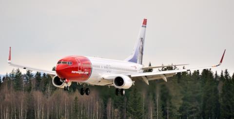 Norwegian-flyet LN-NOJ