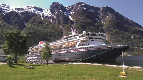 Couple wins five-night cruise for two in Fred. Olsen Cruise Lines' short story writing competition