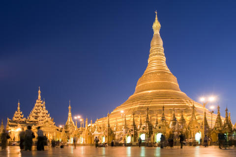 All that glitters is gold: Yangon