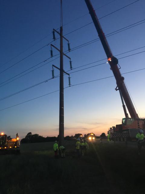 Öresundskraft överklagar dom efter nedmejad kraftstolpe