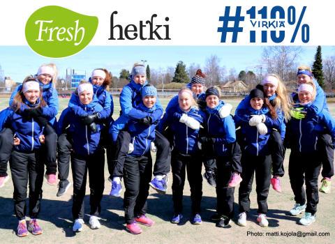Fresh Servant ja Lapuan Virkiän Superpesis-naiset aloittavat yhteistyön