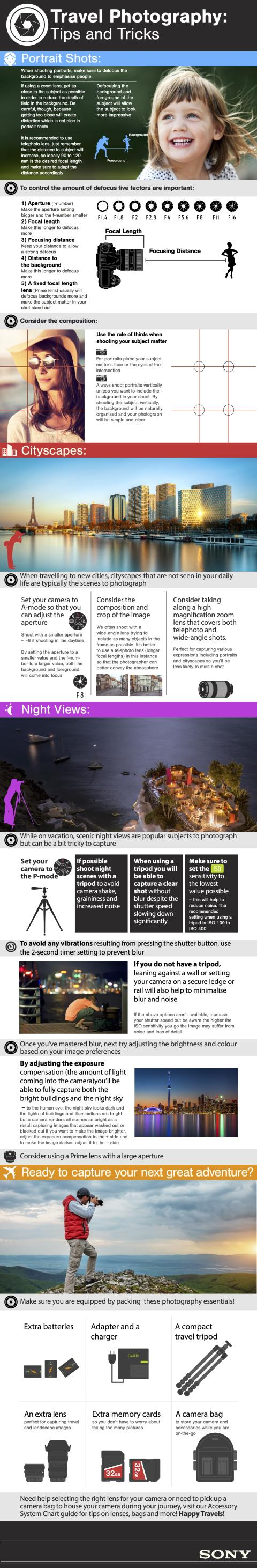 Travel Photography Infographic