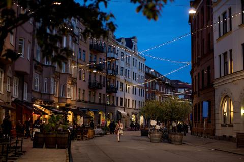 Friisgatan - Malmös sommargata 2017