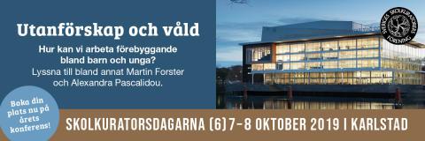 Pressinbjudan: Sveriges skolkuratorer samlas i Karlstad