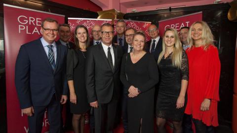 GLS Denmark blandt Danmarks bedste arbejdspladser
