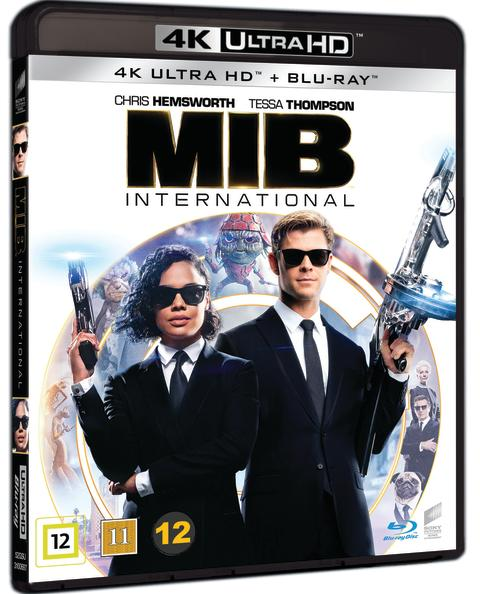 MEN IN BLACK INTERNATIONAL, 4K Ultra HD