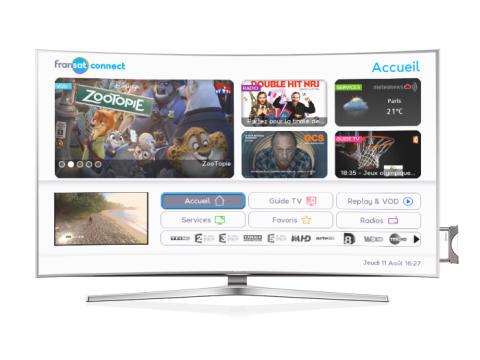 HbbTV: satellite brings in interactive TV