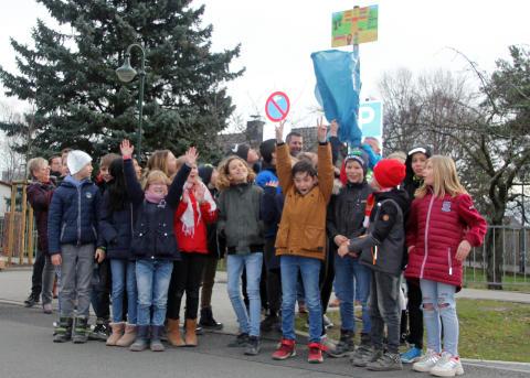 Elternhaltestelle Grunschule Am Blumenhag Bernau