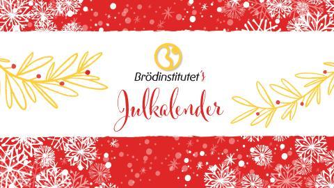Brödinstitutet krossar matmyter i julkalender