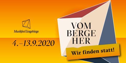 Programm Musikfest Erzgebirge 2020