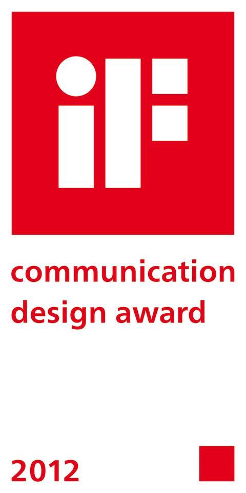 Logo iF Communication Design Award 2012