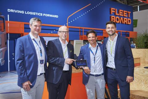 Alle Daten in einer Oberfläche: idem telematics und Daimler Fleetboard kooperieren